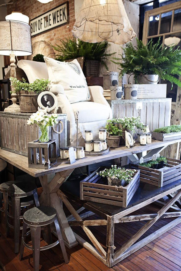 flea market decorate=ive displays for coffee tables - Google Search
