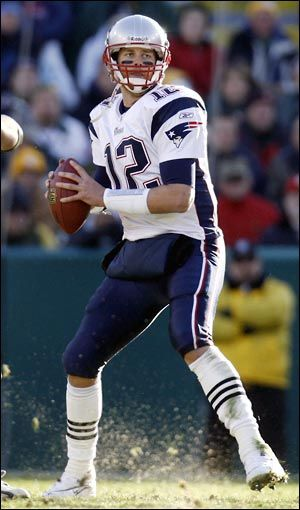 Tom Brady in action... #Patriots