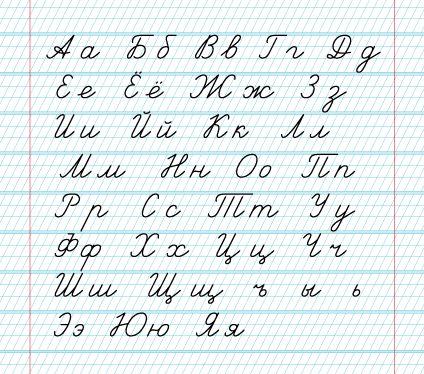 Прописи по русскому языку для первого класса