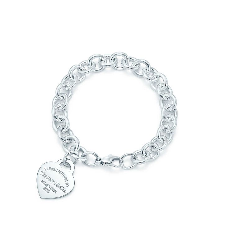 Return to Tiffany®:Heart Tag Bracelet