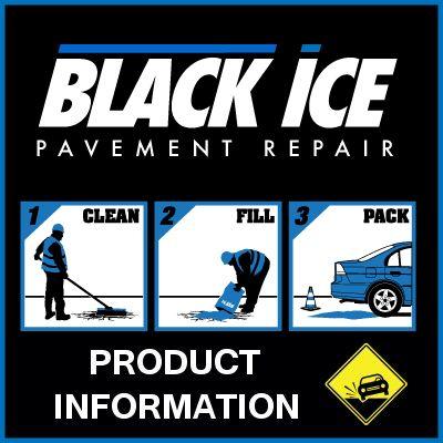 BlackIce Pavement Repair- Easy as 1..2..3..