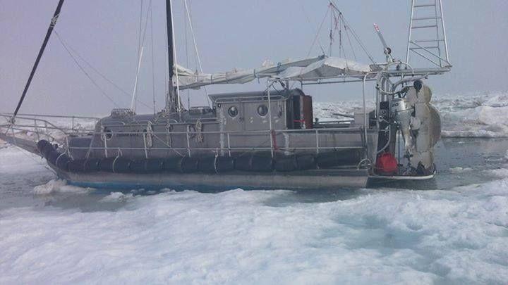 Yelkenli tekne ile Kuzey Kutbunu tek başına geçen 68 yaşındaki Türk'ün müthiş öyküsü