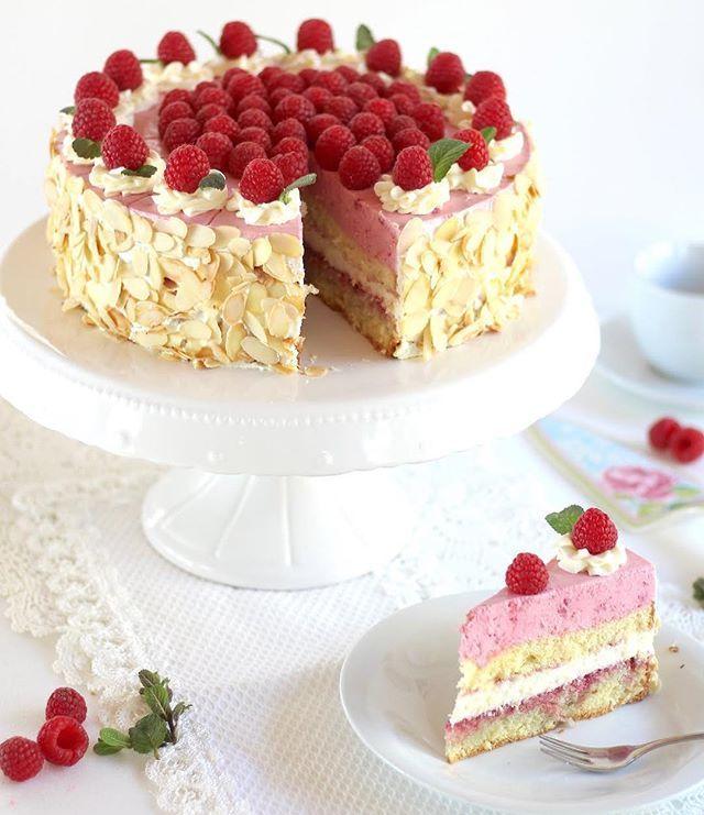 Schokoladen Biskuit Grundrezept Rezept Himbeer Sahne Torte Kuchen Und Torten Rezepte Kuchen Und Torten