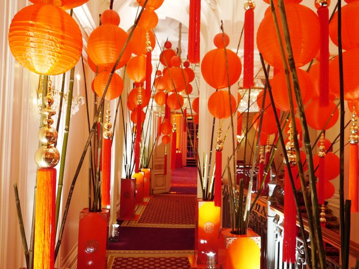 ballroom entrance for chinese new year party 2013 - Chinese New Year Party