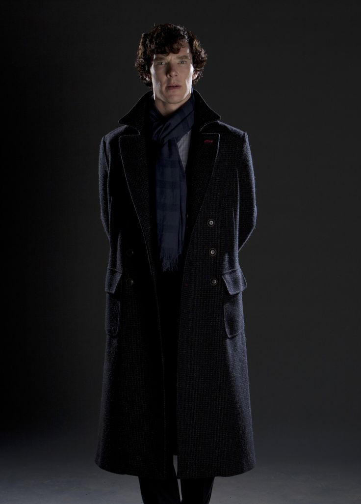 Sherlock Holmes BBC Sherlock S2 Grey bg Promo picture - He doesn't even have to do anything to look good! Click here for more Season 2 grey bg promo pics: (Mycroft pt 1) (Mycroft pt 2) (John w/arms...
