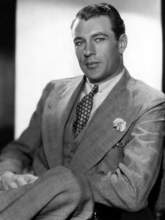 I'm sorry, Gary Cooper. You know I love you. But you look SO much like Sandford Cain in this photo.