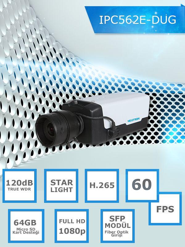 60 fps , sfp modül , starlight IP Kamera