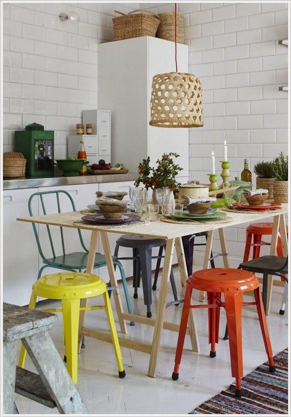 Mejores 123 imágenes de tables & chairs / Mesas y sillas en ...