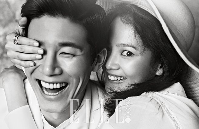 '김무열'과 '윤승아', ELLE Korea