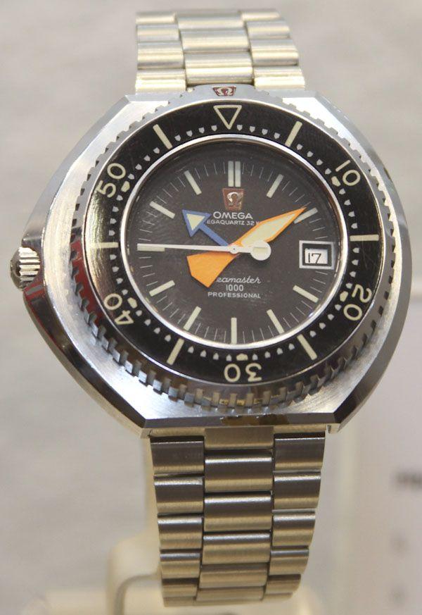 Omega Megaquartz 32 Seamaster 1000