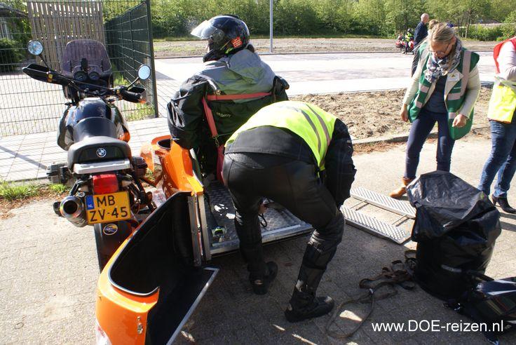 Motociclismo especialmente para los usuarios de sillas de ruedas