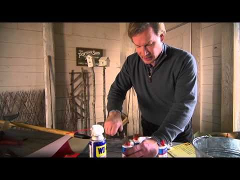 Garden tool maintenance at home with p allen smith for Garden tool maintenance