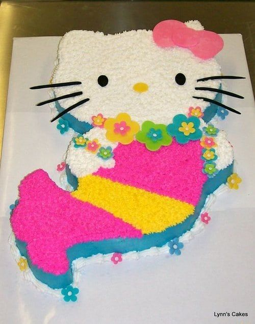 Beautiful Hello Kitty Birthday Cakes Ideas with Image | Delicious & Simple