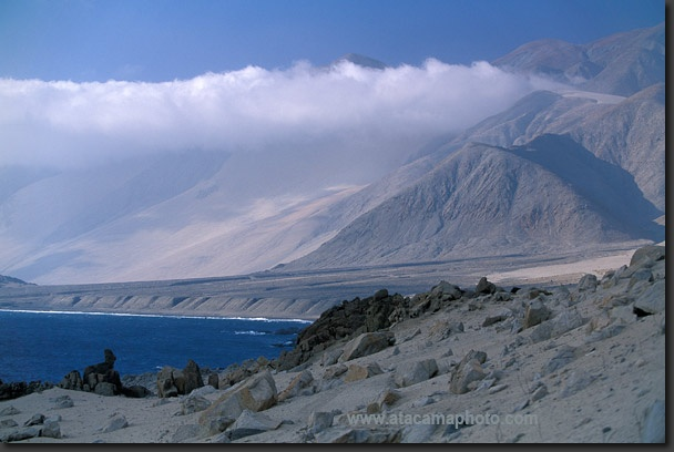 The typical coastal cloud layer of the Atacama Desert, Chile