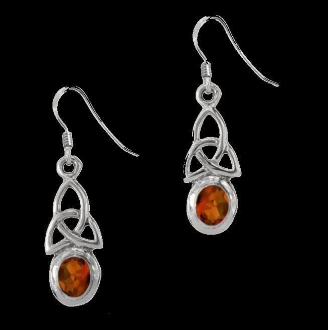 For Everything Genealogy - Birthstone Celtic Trinity Knotwork January Stone Sterling Silver Earrings, $60.00 (http://www.foreverythinggenealogy.com.au/birthstone-celtic-trinity-knotwork-january-stone-sterling-silver-earrings/)