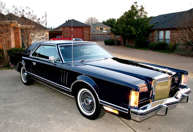 1979 Lincoln Mark V collectors series