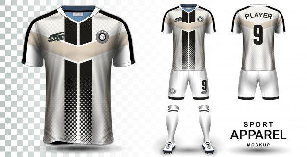 Download Soccer Jersey Sport Shirt Or Football Kit Uniform Presentation Soccer Jersey Football Kits Soccer Shirts