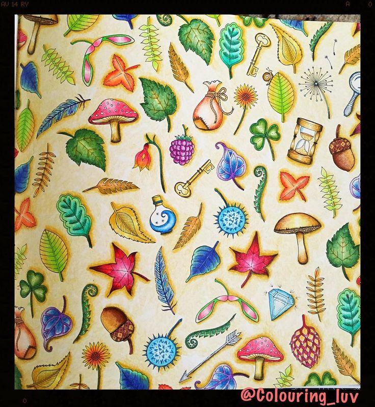 Johanna Basford Coloring Books Colouring Book Art Prismacolor Forests Journals Tips Artwork