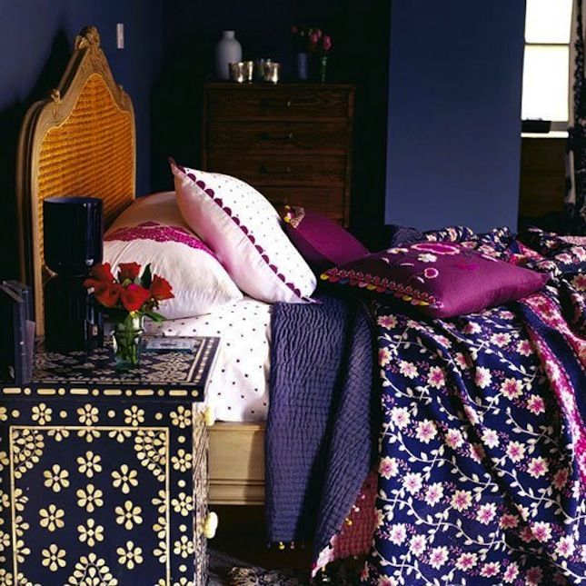 Give Your Bedroom the Royal Treatment With 15 Jewel Tone Ideas via Brit + Co.