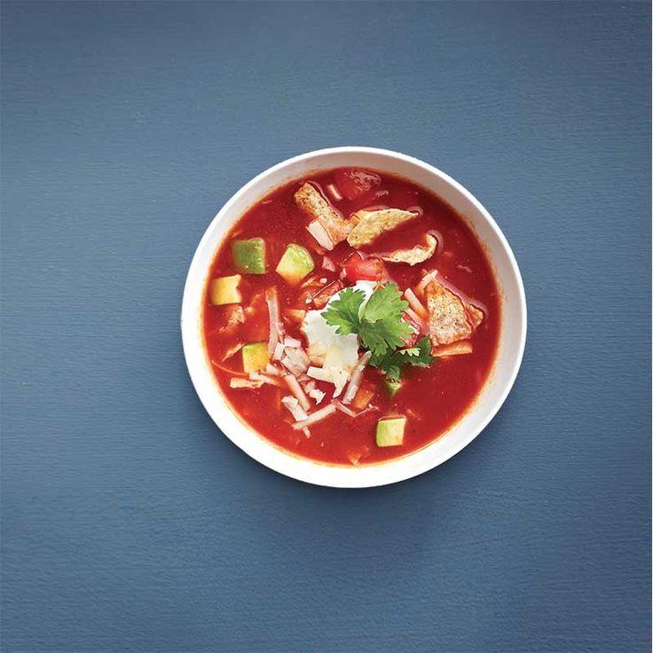Tomates: 18 recettes pour profiter de la saison des récoltes -----Soupe aux tomates à la mexicaine