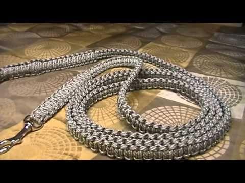 Cobra Weave Paracord Leash - YouTube