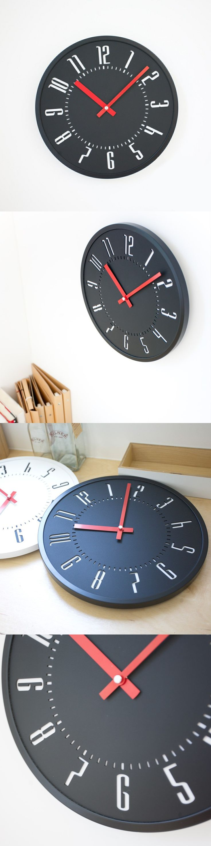 The 25 best handmade wall clocks ideas on pinterest homeart fashion mute wall clock decorative 12 inch wall clock handmade wall clock rustic clock home decor simple style amipublicfo Gallery