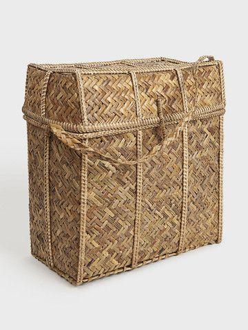 Bhutanese Natural Weave Basket