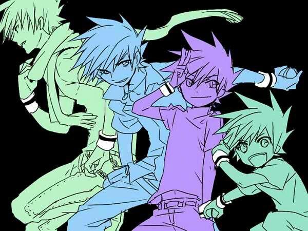 Green/Blue - Pokemon Champion and Viridian Gym Leader  Source: Zero-chan uploaded by Tensai-kun