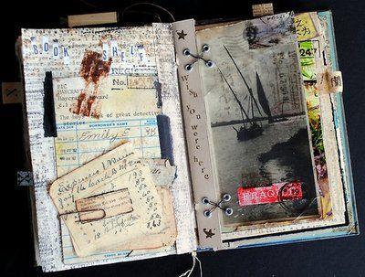 Memoire Artist Book Seth Apter - Curiosity Contained