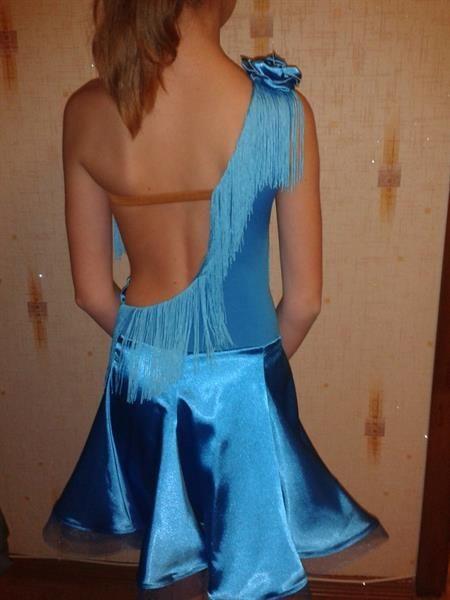 Как кройть платье клеш