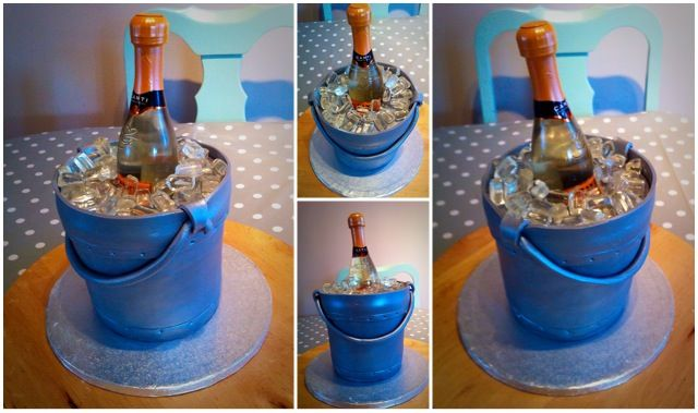 Ice bucket cake and video https://youtu.be/S0Xrhc6KBTA