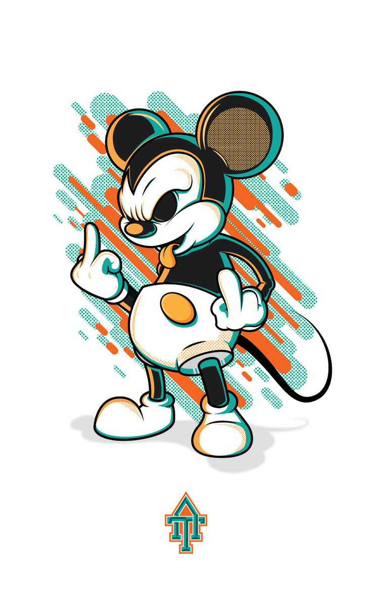Evil Mickey Mouse on Behance