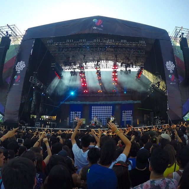 The kooks en lollapalooza chile #LollaCL