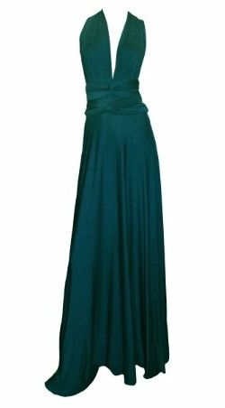Jersey Gown Cerulean by Butter by Nadia @Girl Meets Dress