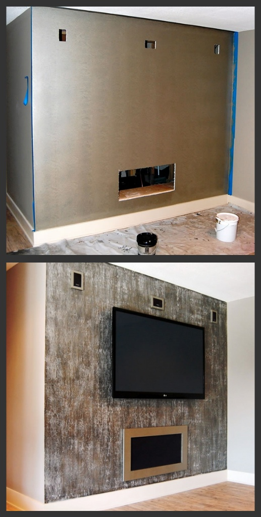 7 best images about tv feature wall on pinterest Fireplace feature wall colour