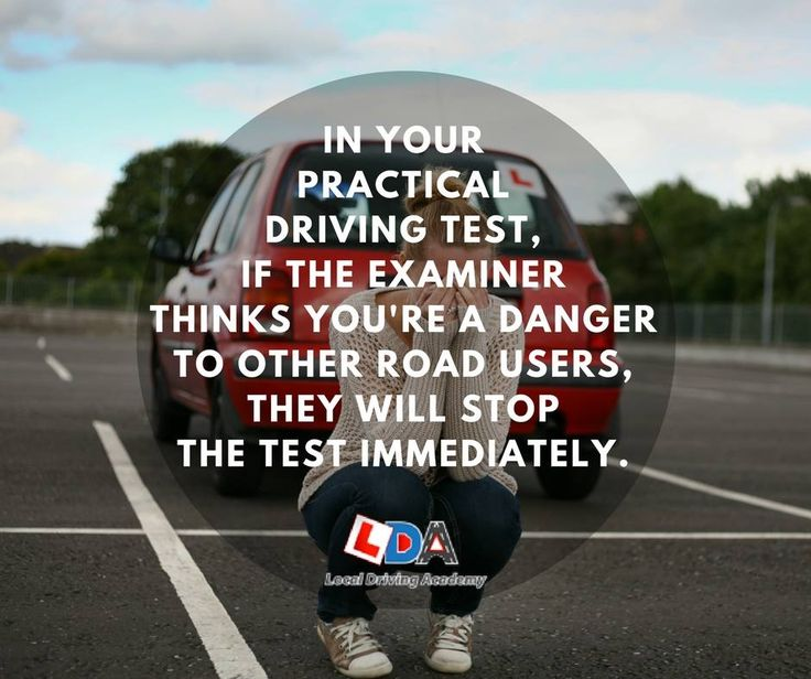 Passing or failing...?  The examiner will mark you on all aspects of your driving throughout the practical driving test. You can accrue up to 15 driving faults and still pass but the 16th fault you get will mean failure. When it comes to serious or dangerous faults, however, it's 'one strike and you're out'.