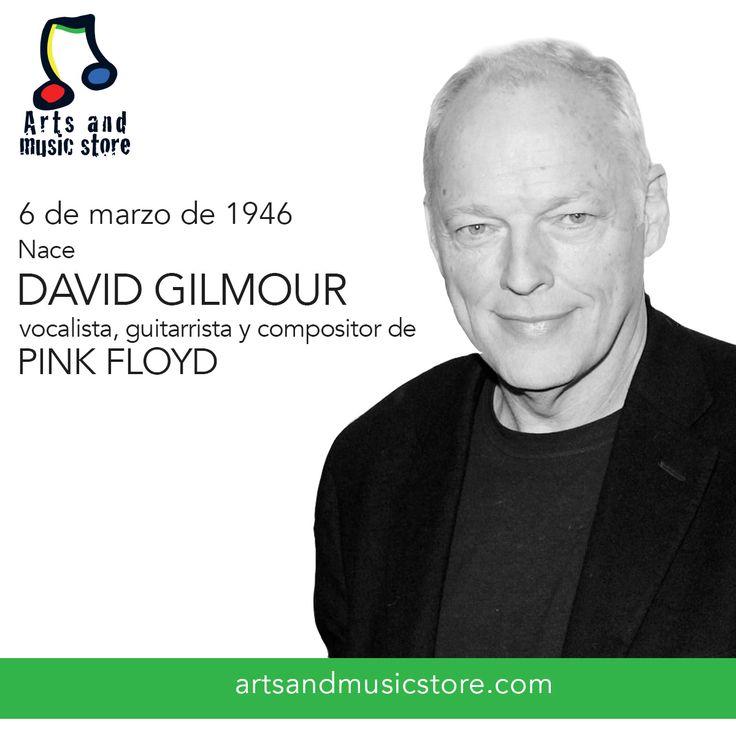 Hoy cumple 70 años David Gilmour, vocalista, guitarrista y compositor de Pink Floyd.
