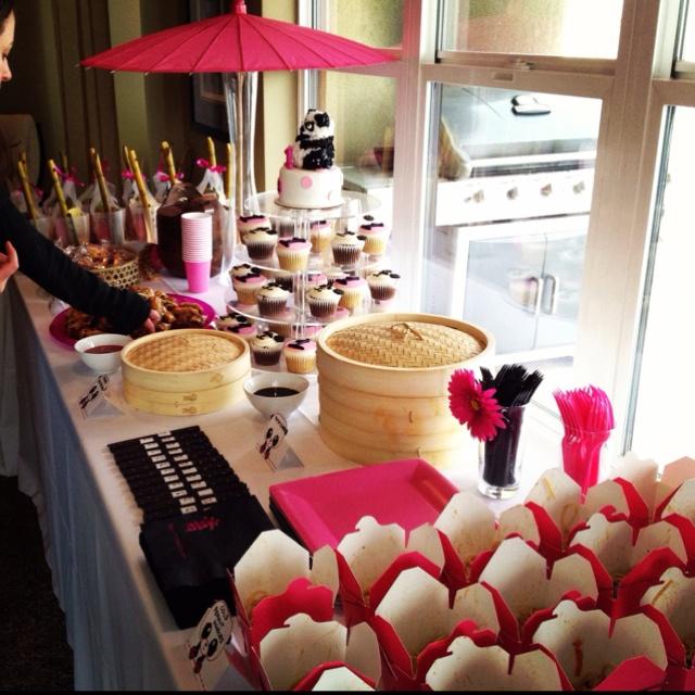Evie's 1st Birthday Party. Kung Fu Panda Theme.