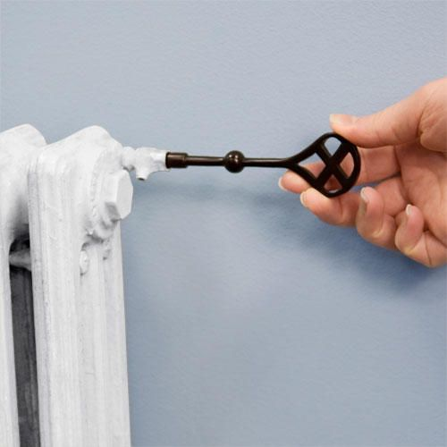 Radiator Key - Oil Rubbed Bronze
