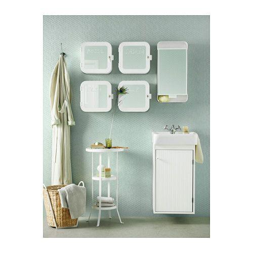Remodel :: Shower GUNNERN Mirror cabinet with 1 door, white white 12 1/4x24 3/8