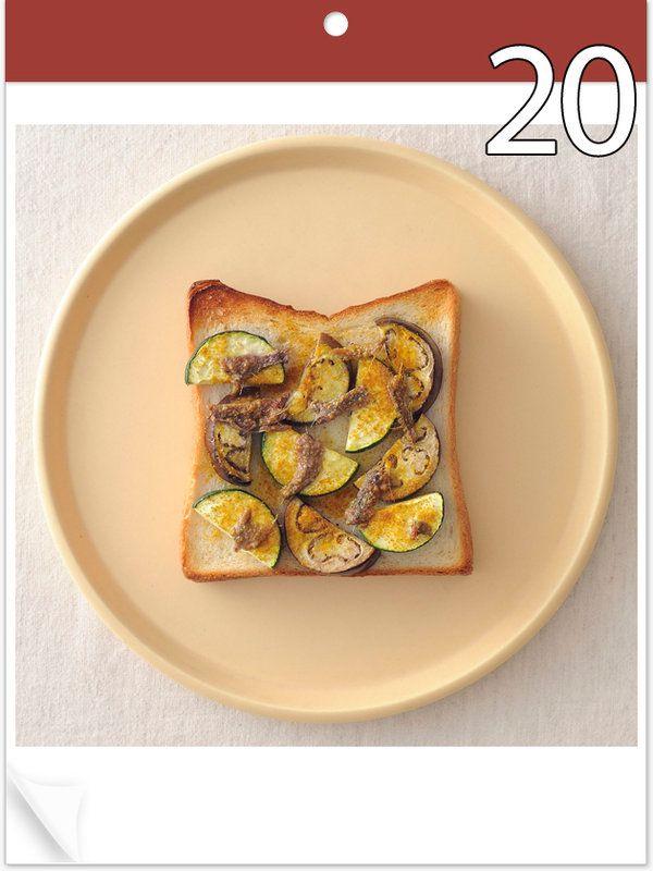6月~7月の2か月間、毎日ご紹介しているトーストレシピ。旬の食材や記念日、それにイベントなど、1枚のトーストでどれだけ楽しめるかが面白い! さて、今日の具材は……。