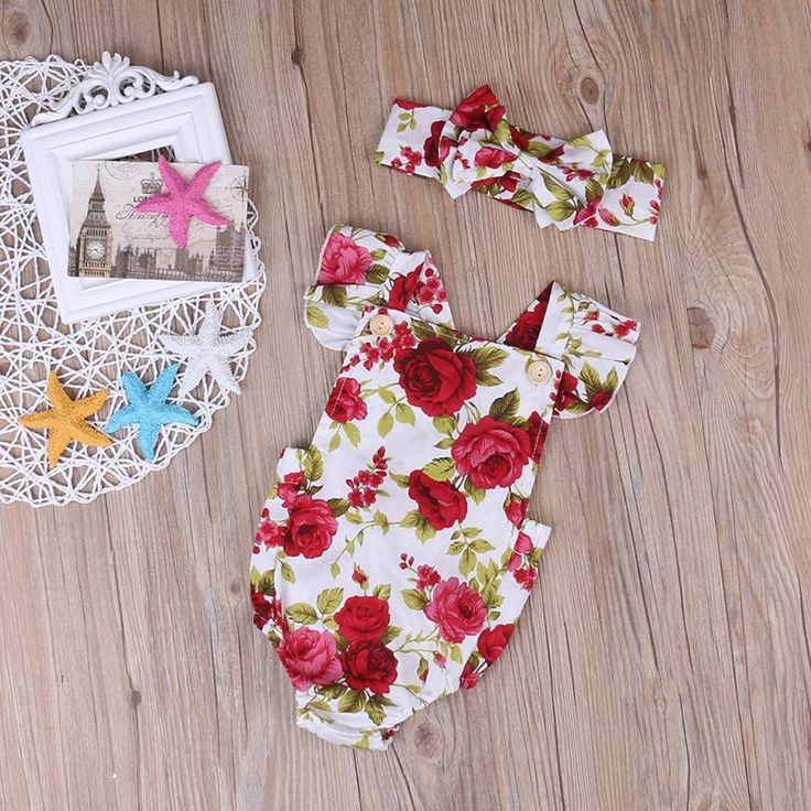 Amazon.com: Newborn Kids Baby Girls Clothes Floral Jumpsuit Romper Playsuit + Headband Outfits (0-6 Months): Clothing  https://www.amazon.com/gp/product/B01MUNQ4RD/ref=as_li_qf_sp_asin_il_tl?ie=UTF8&tag=rockaclothsto_toys-20&camp=1789&creative=9325&linkCode=as2&creativeASIN=B01MUNQ4RD&linkId=ab11613fe2ad6af1e3ee186d33cbefc3