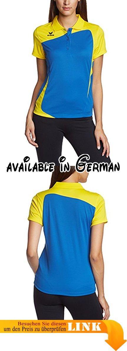 erima Damen Poloshirt Club 1900, new royal/gelb, 38, 111346. Erima CLUB 1900 Poloshirt. Damen. blau/gelb #Sports #SPORTING_GOODS