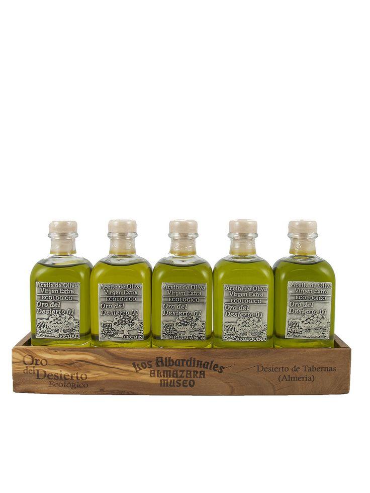 Olive Oil Lovers - Oro del Desierto Deluxe Gift Set, $49.95 (http://oliveoillovers.com/oro-del-desierto-deluxe-gift-set/)