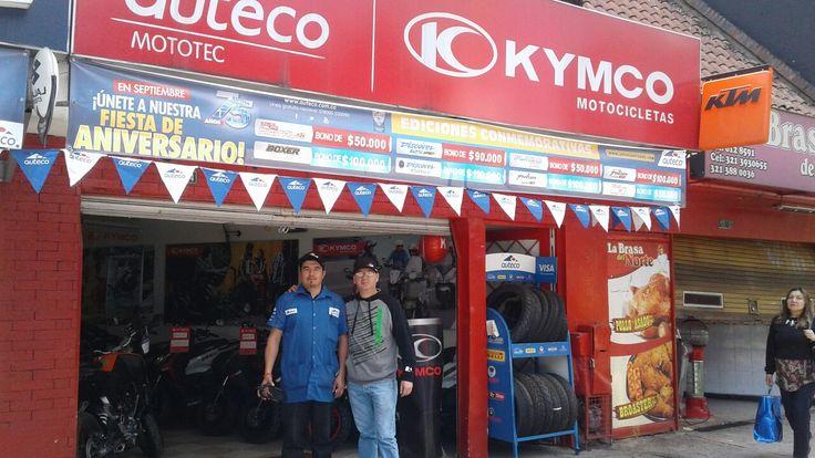 Distribuidor KIMCO MOTOTEC Cra 7 120-28 Pepe Sierra Bogota Colombia