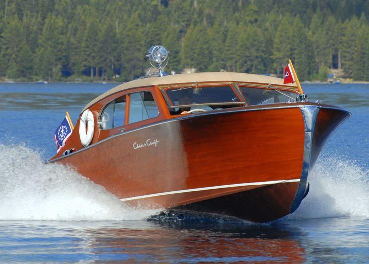 vintage wood boats