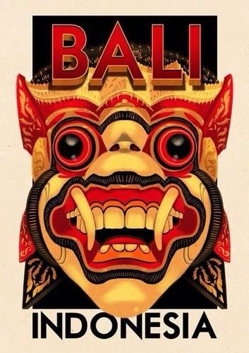 Vintage Poster - Bali Indonesia
