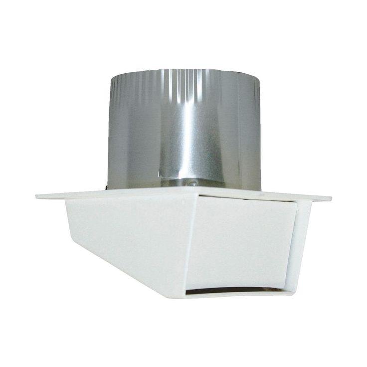 Builders Best 4 Plastic Eave Vent, Silver aluminum