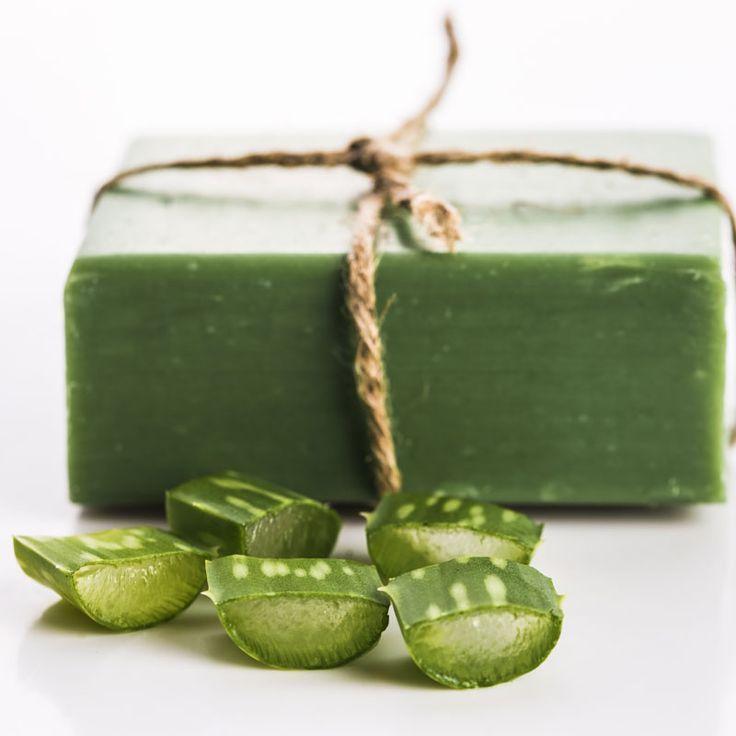 Machen Sie Aloe Vera Soap fr die Hautpflege – Rezept amp; Anleitung – DIY Cosme….