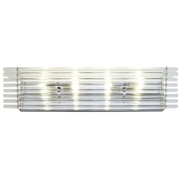 Varaluz Empire State 4-light Polished Stainless Steel Bath Fixture with Premium Bohemian-style Rods